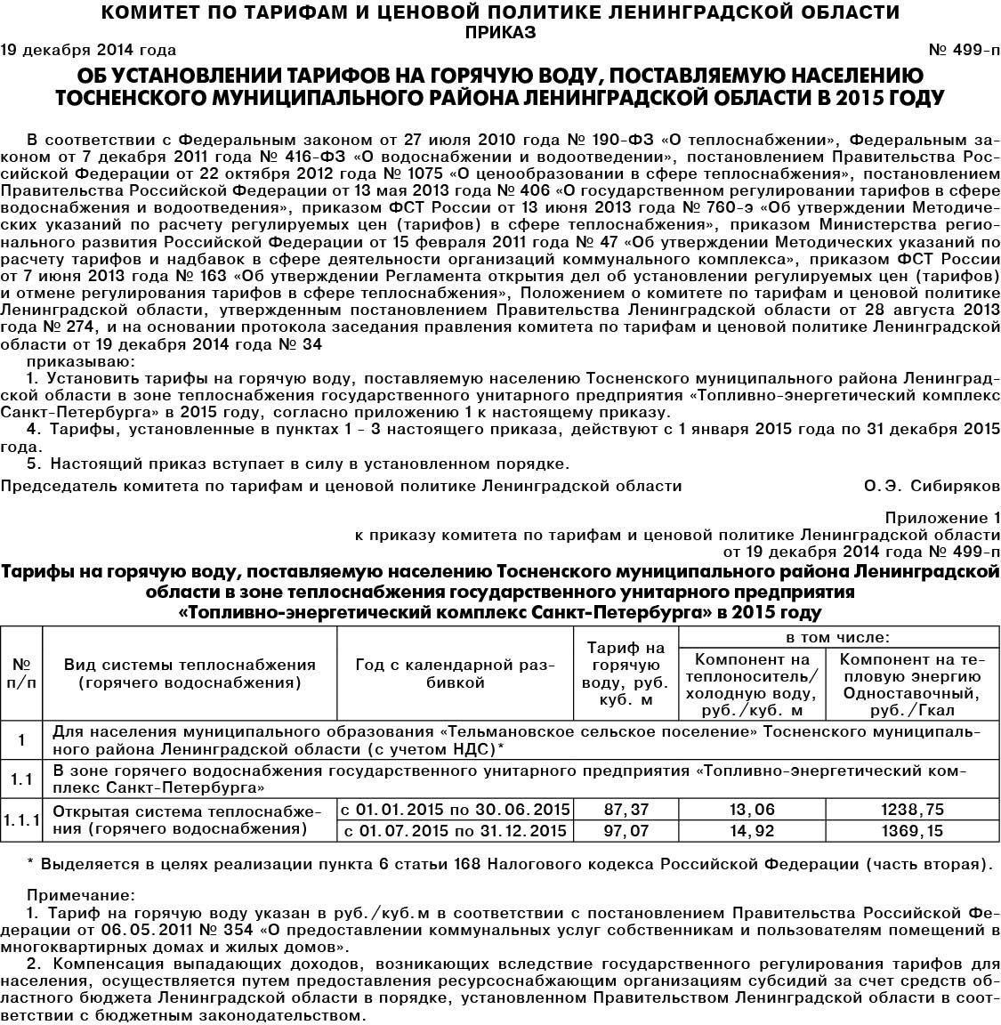 Раскрытие информации  2015гИнформация о предложении регулируемой организации об установлении цен тарифов в сфере теплоснабжения на очередной расчетный период регулирования